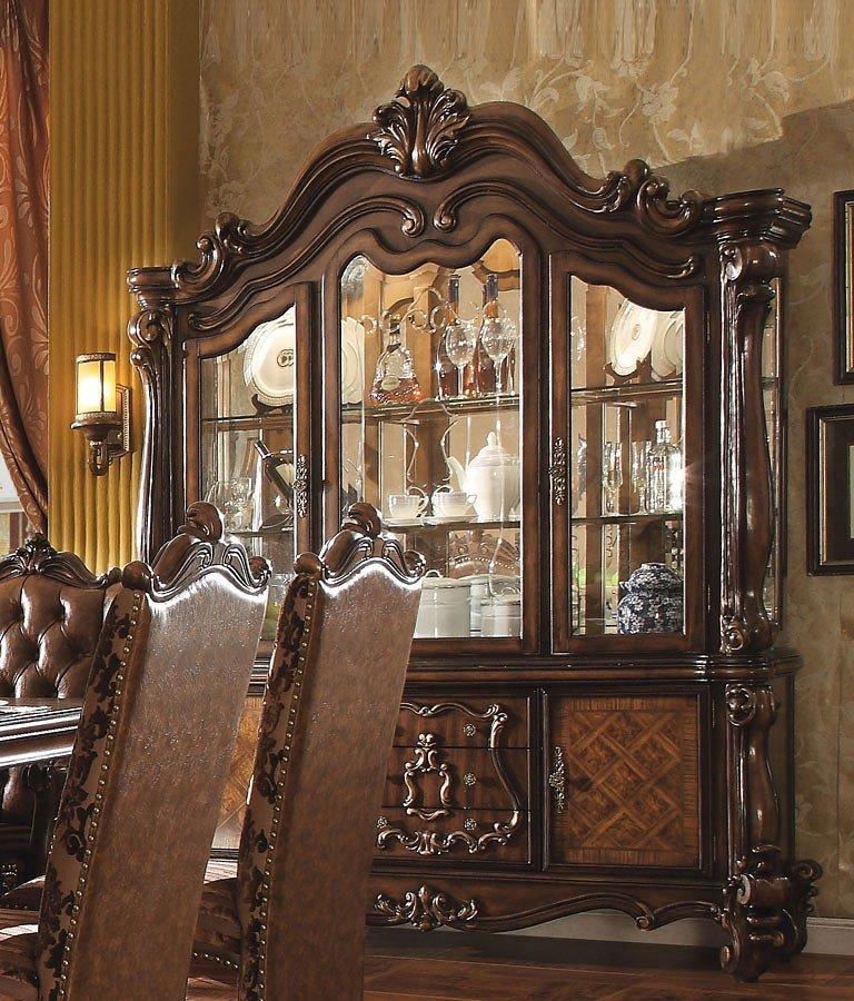 Versailles Buffet w/ Hutch (Cherry Oak)