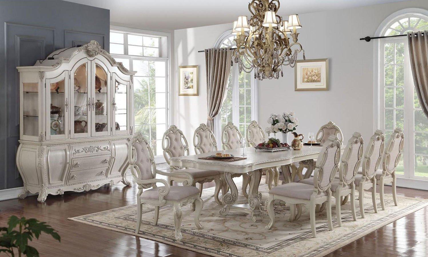 Ragenardus Dining Room Set (Antique White)
