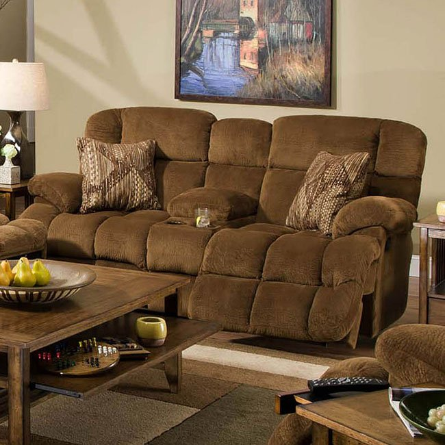Concord Lay Flat Power Reclining Loveseat Catnapper