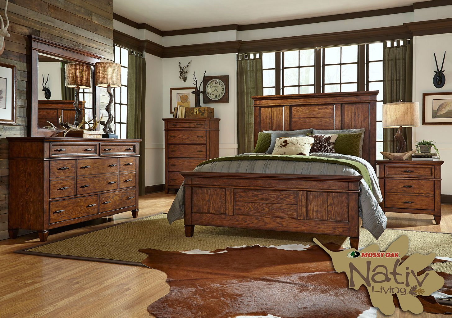 Rocky Mountain Panel Bedroom Set Liberty Furniture