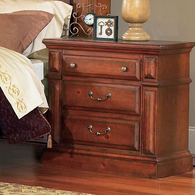 Torreon Bedroom Set (Antique Pine) Progressive Furniture