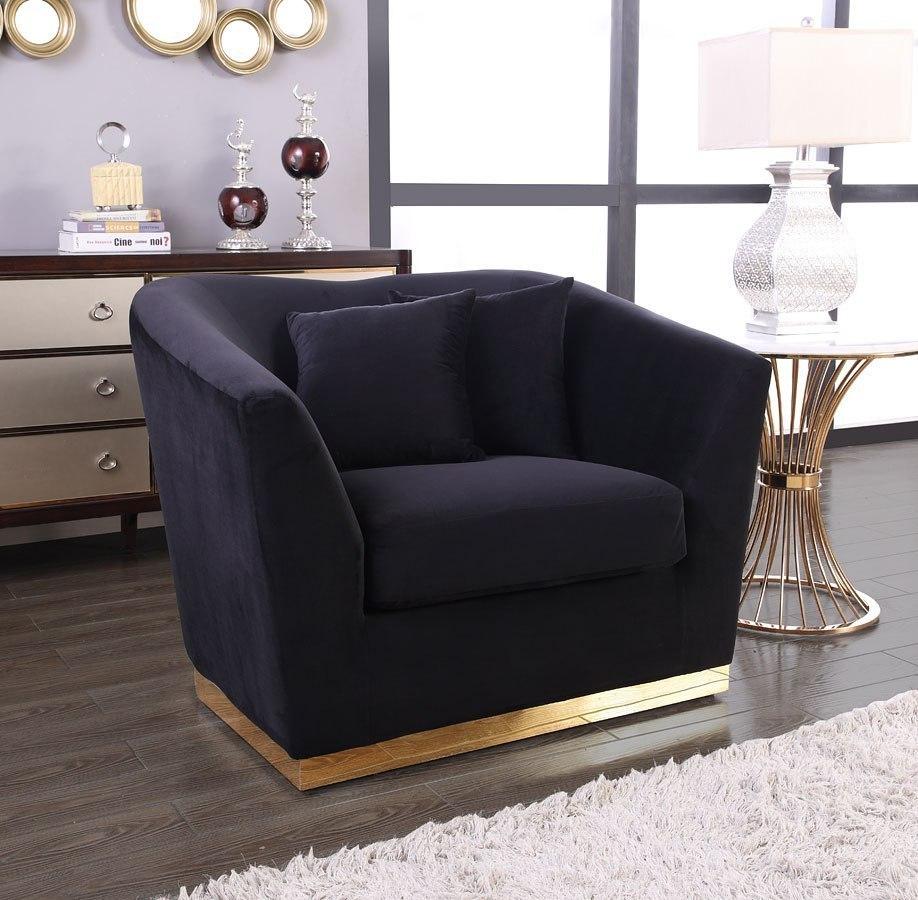 Ashley Furniture Meridian Idaho: Arabella Living Room Set (Black) Meridian Furniture