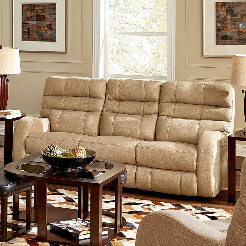 Kelsey Power Lay Flat Reclining Sofa (Doe)