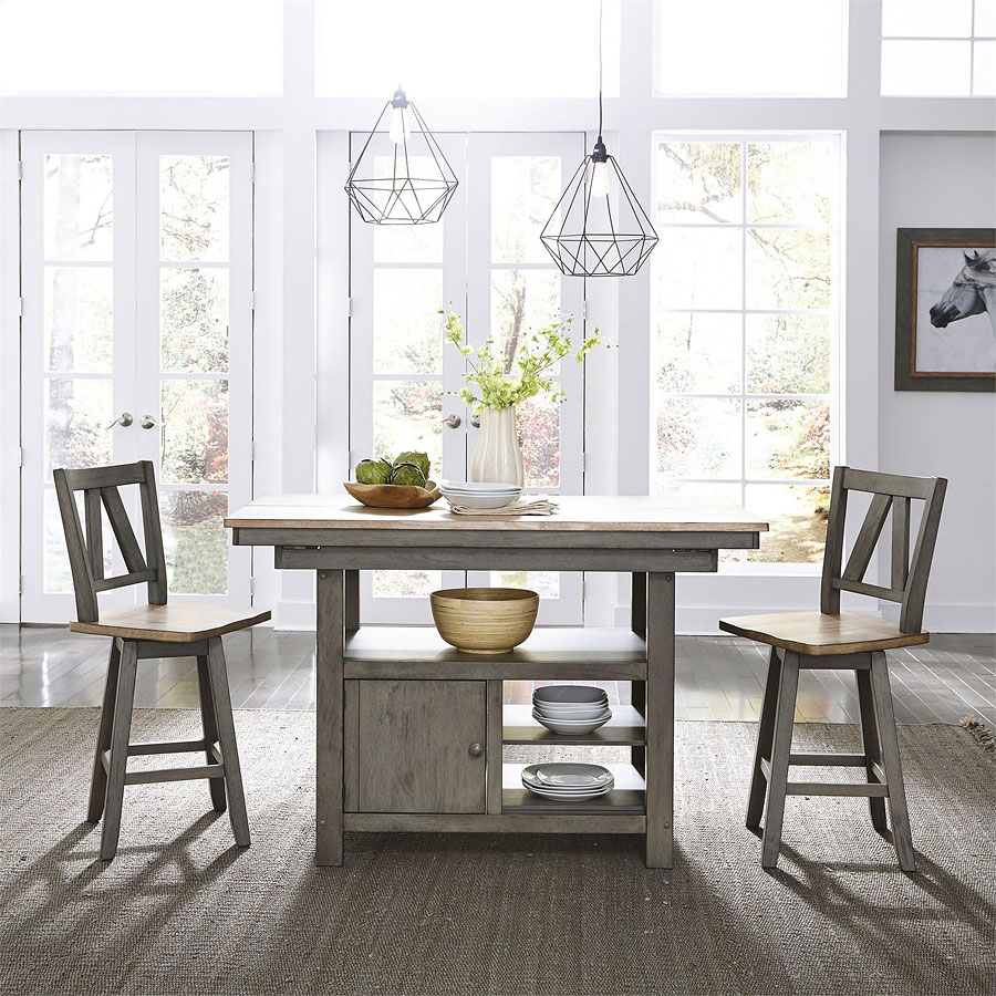 Lindsey Farm Kitchen Island Set
