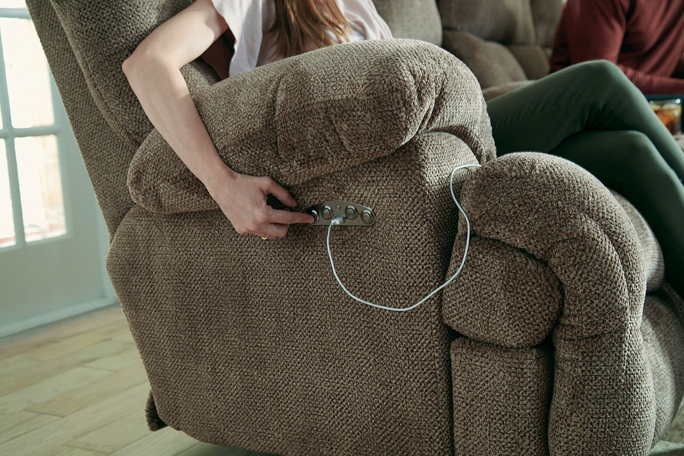 Brice Power Lay Flat Reclining Living Room Set W Power