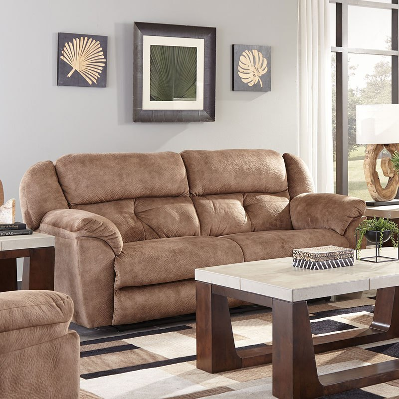 Carrington Power Lay Flat Reclining Sofa (Silt)