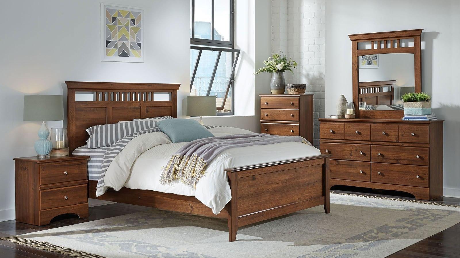 chatom panel bedroom set standard furniture furniture cart. Black Bedroom Furniture Sets. Home Design Ideas