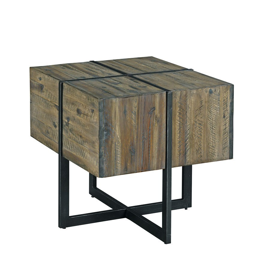 Modern Timber Accent End Table Hammary Furniture Cart