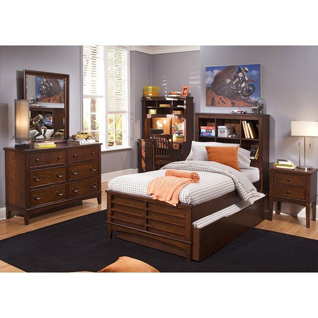 Square Bedroom Furniture ~ Chelsea square bookcase bedroom set liberty furniture