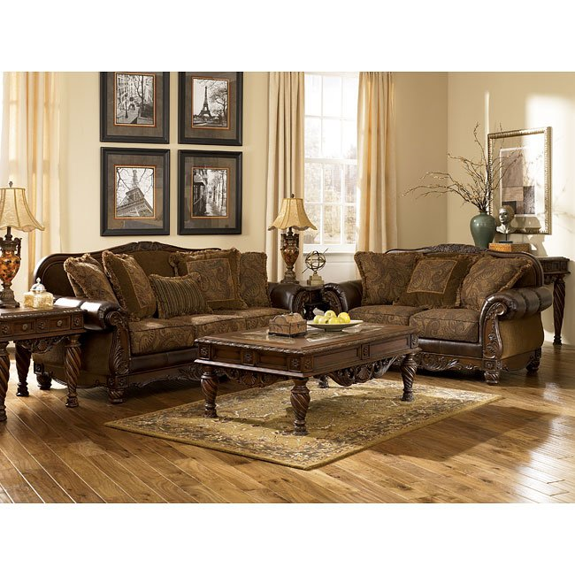 Antique Living Room Set Signature