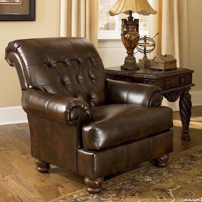 Fresco DuraBlend - Antique Accent Chair