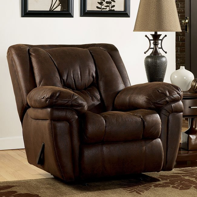 Blake - Walnut Rocker Recliner