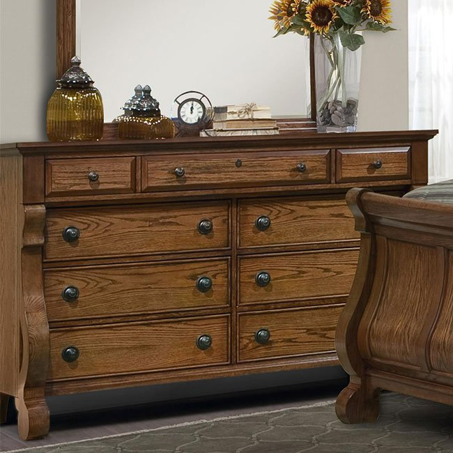 Georgetown Dresser (Oak)