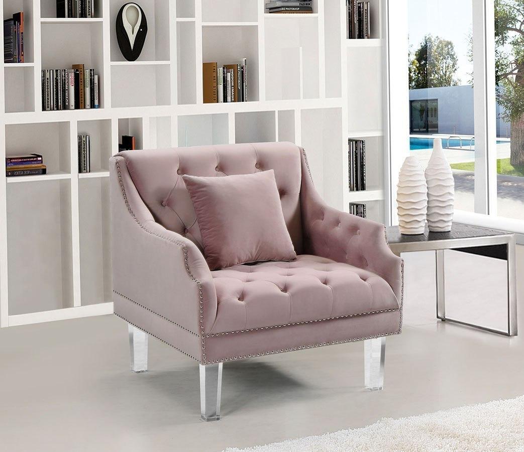 Ashley Furniture Meridian Idaho: Roxy Living Room Set (Pink) Meridian Furniture