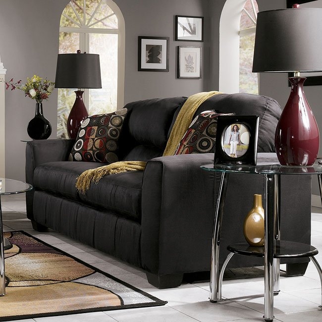 Thornton - Onyx Queen Sofa Sleeper