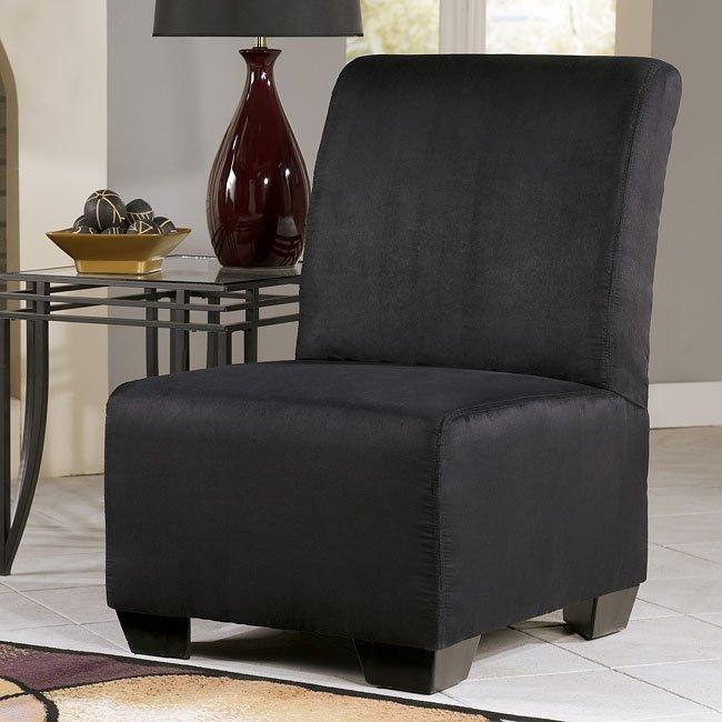 Thornton - Onyx Armless Chair