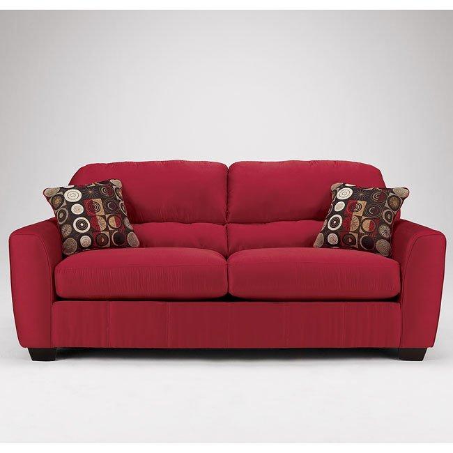 Thornton - Red Sofa