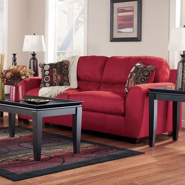 Thornton - Red Queen Sofa Sleeper