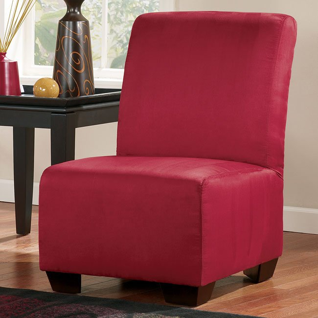 Thornton - Red Armless Chair