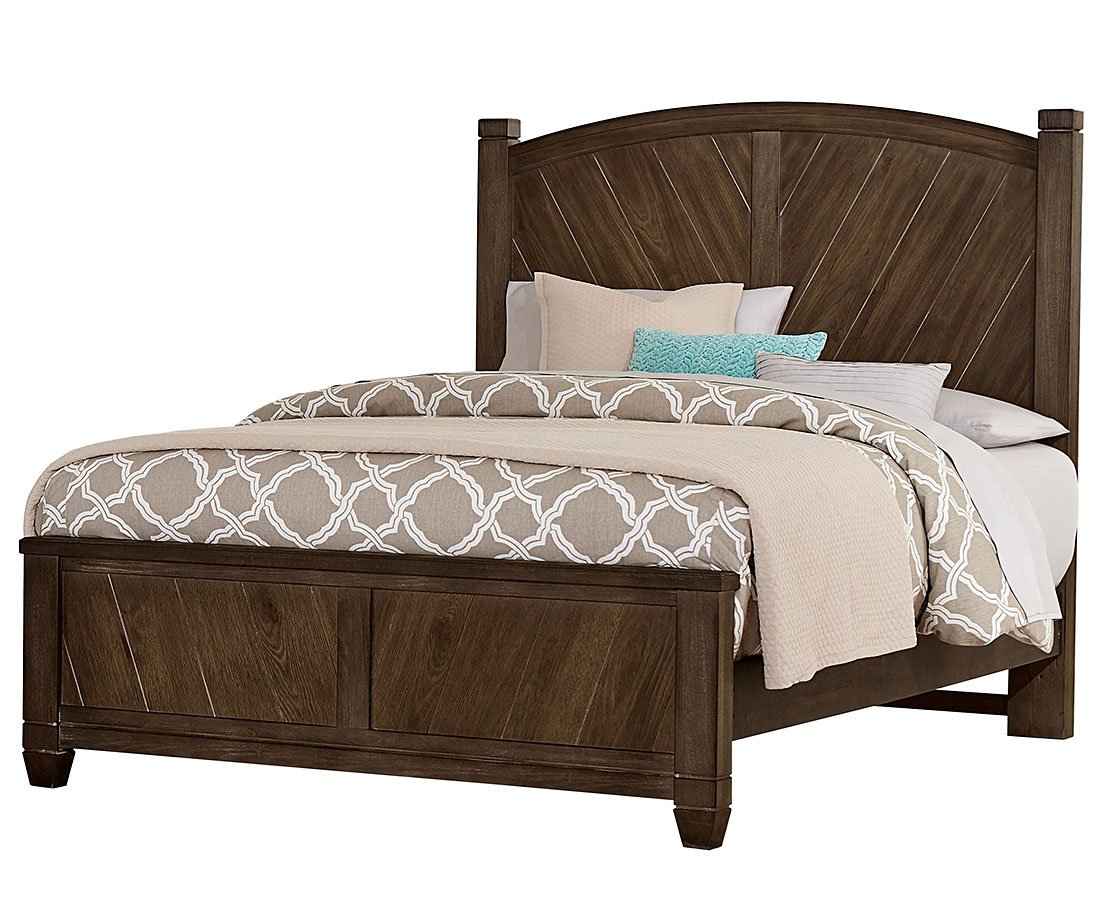 beds oak beds and rustic on rustic cottage panel bed oak vaughan bassett furniture 680