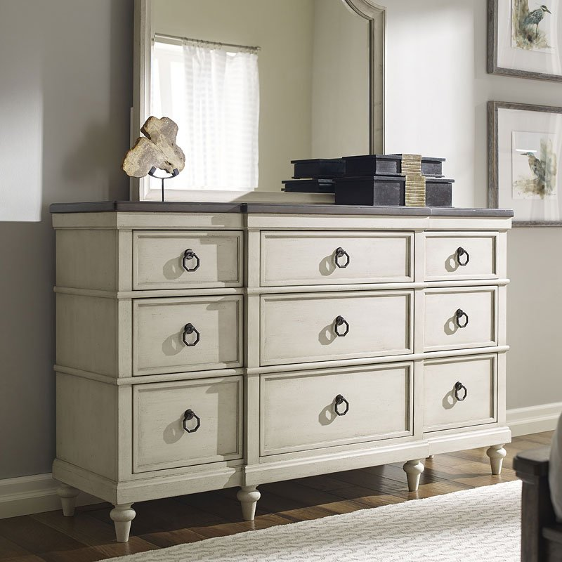 Brookhaven Storage Bedroom Set Vintage Linen Legacy Classic Furniture Cart