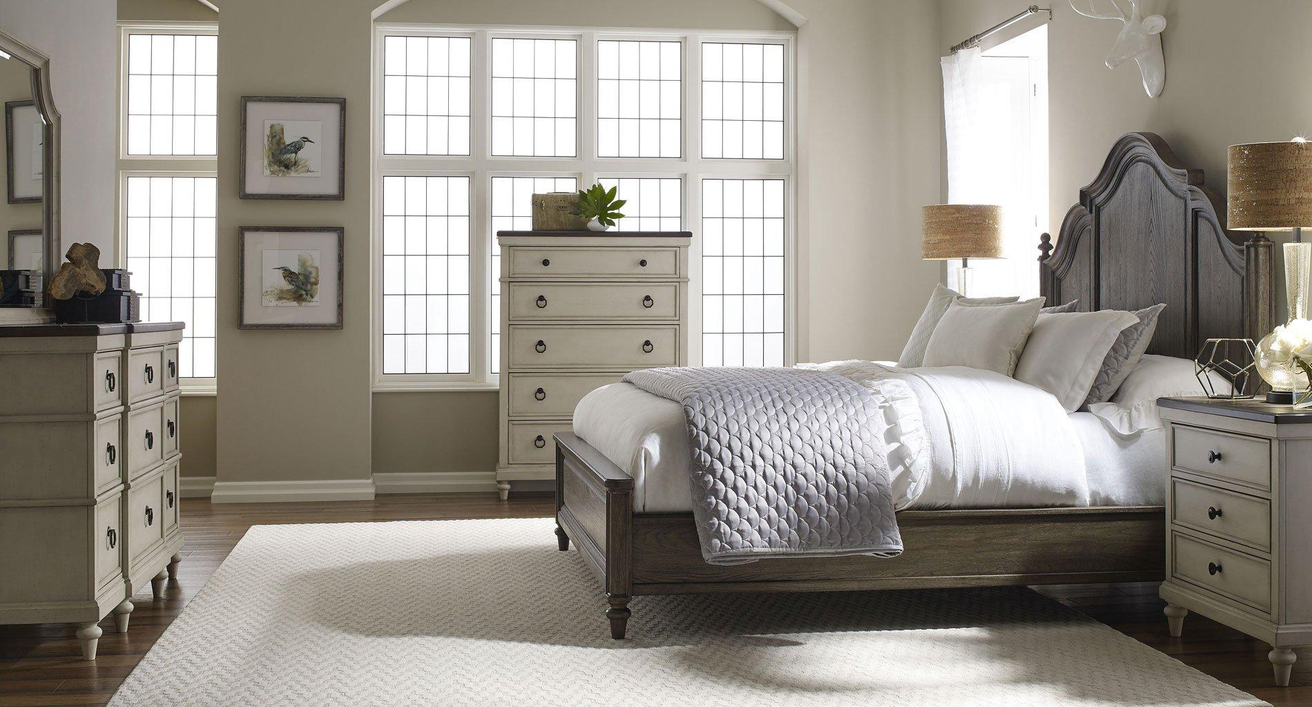 Brookhaven Panel Bedroom Set Dark Elm Legacy Classic Furniture Cart