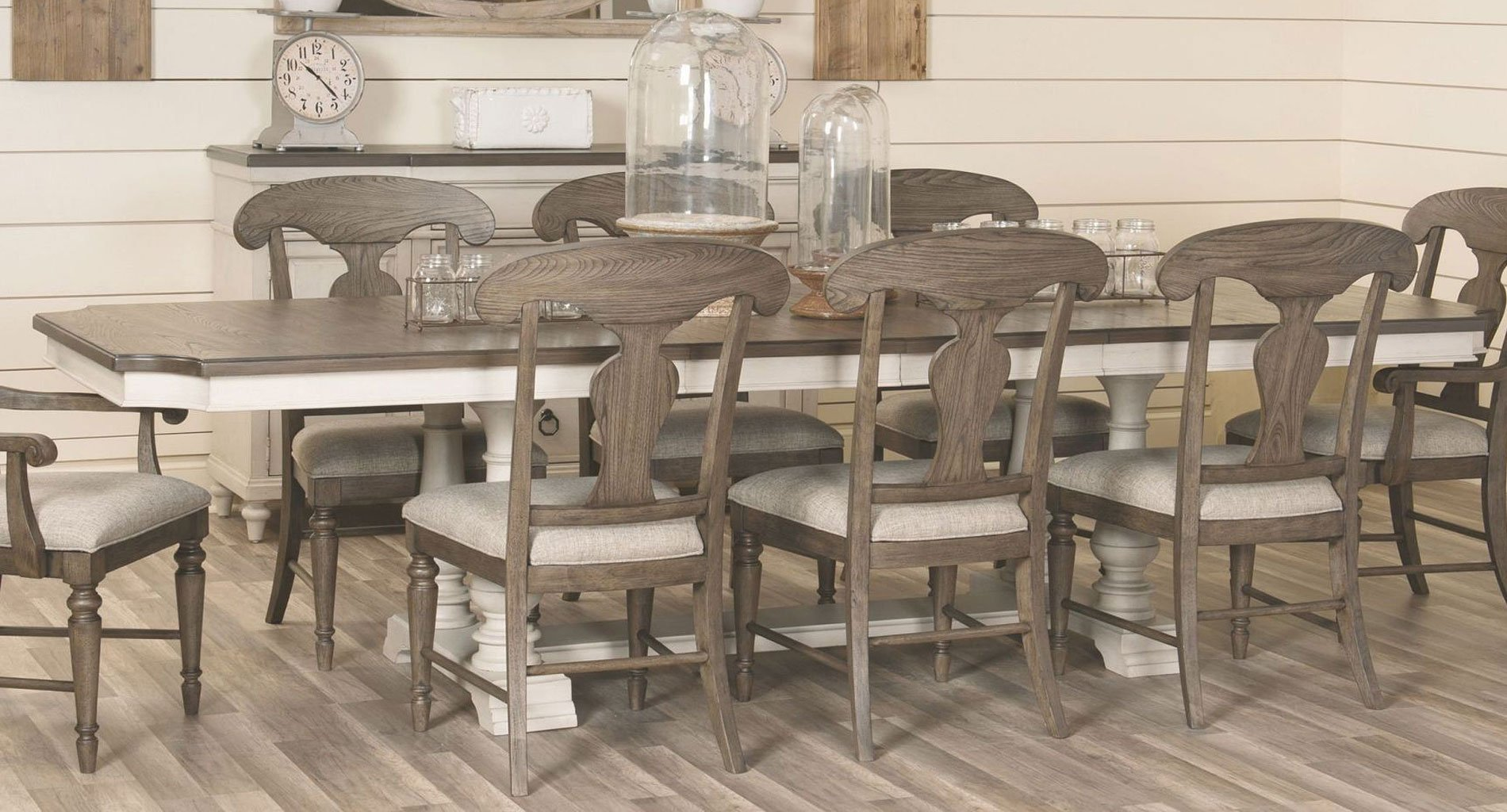 Brookhaven Trestle Dining Table Legacy Classic | Furniture Cart