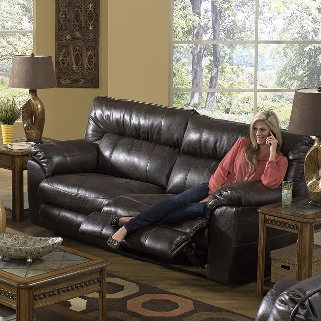 Nolan Extra Wide Reclining Sofa w/ Power