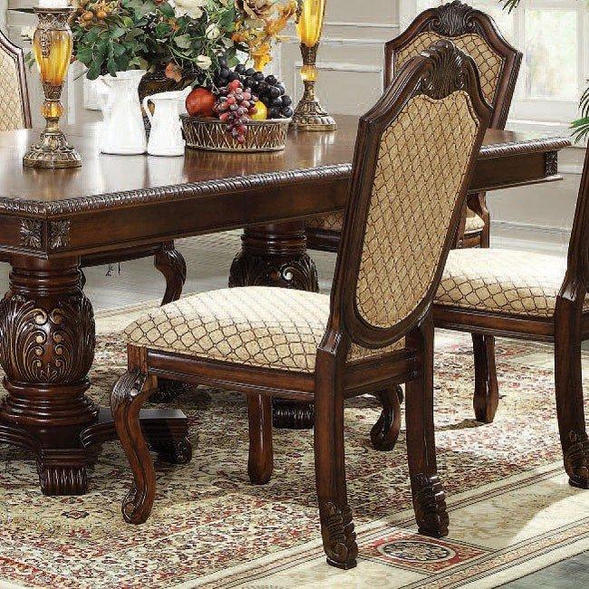 Chateau De Ville Dining Room Set Espresso Acme Furniture