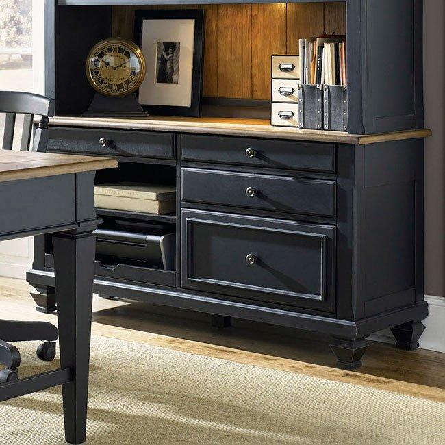 Bungalow Ii Jr Executive Credenza Liberty Furniture