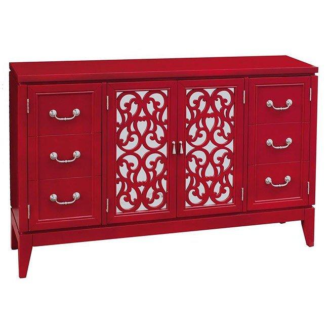 Randy Rouge Console Pulaski Furniture Furniture Cart