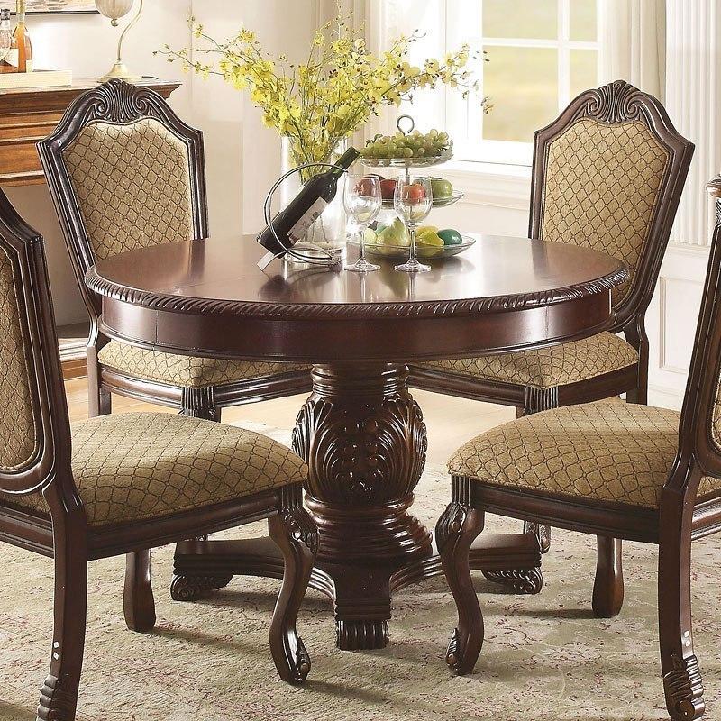 Cau De Ville Round Dining Table Espresso
