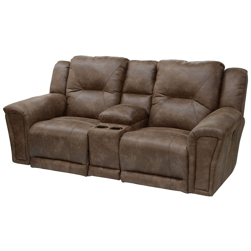 Awe Inspiring Collin Power Lay Flat Reclining Loveseat W Lighted Console Caraccident5 Cool Chair Designs And Ideas Caraccident5Info
