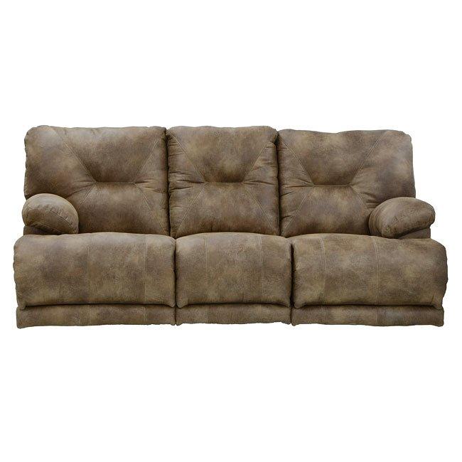 Voyager Lay Flat Triple Reclining Sofa w/ Power