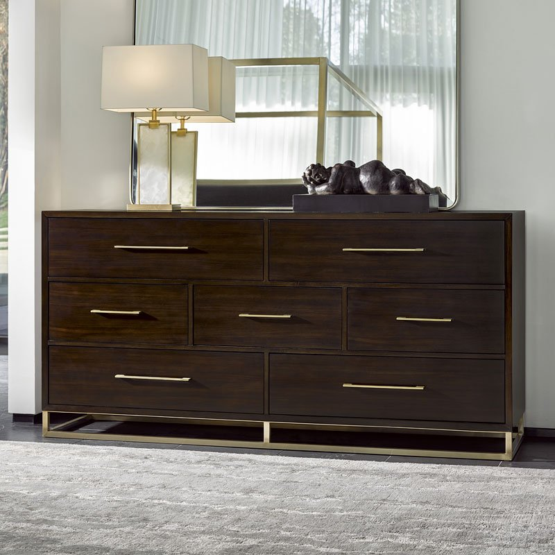 Modern Bancroft Dresser (Mahogany)