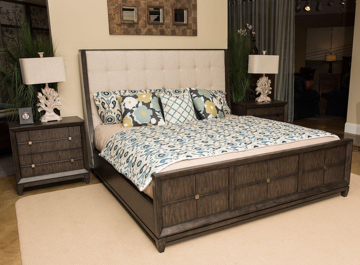 Regency Upholstered Bedroom Set Klaussner