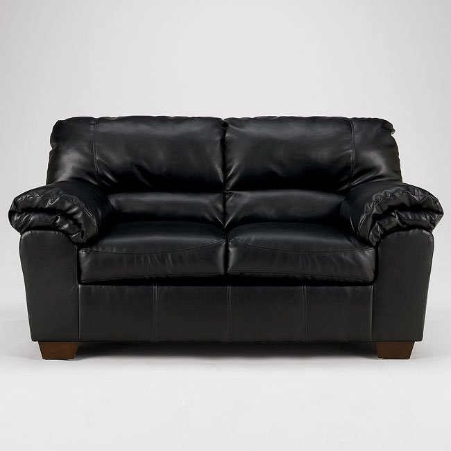 Commando - Black Loveseat