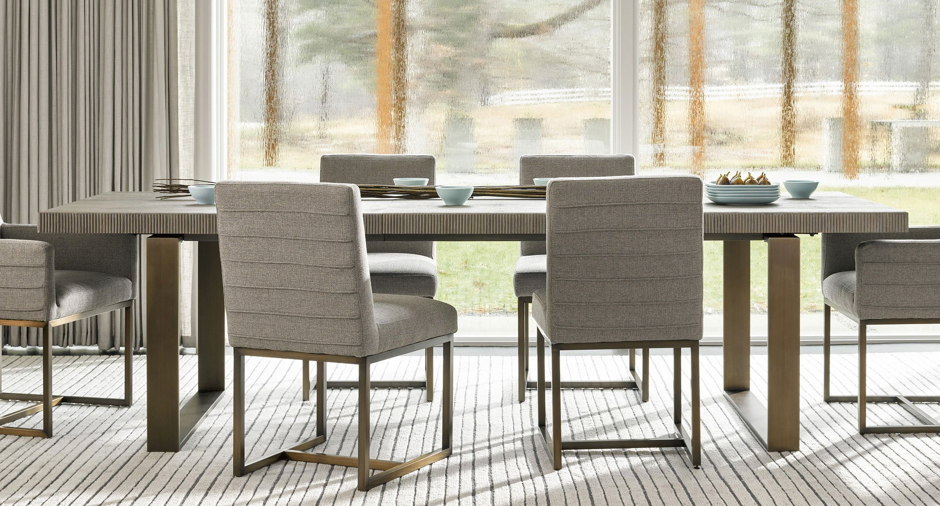 Modern Robards Dining Table Flint Universal Furniture Furniture Cart