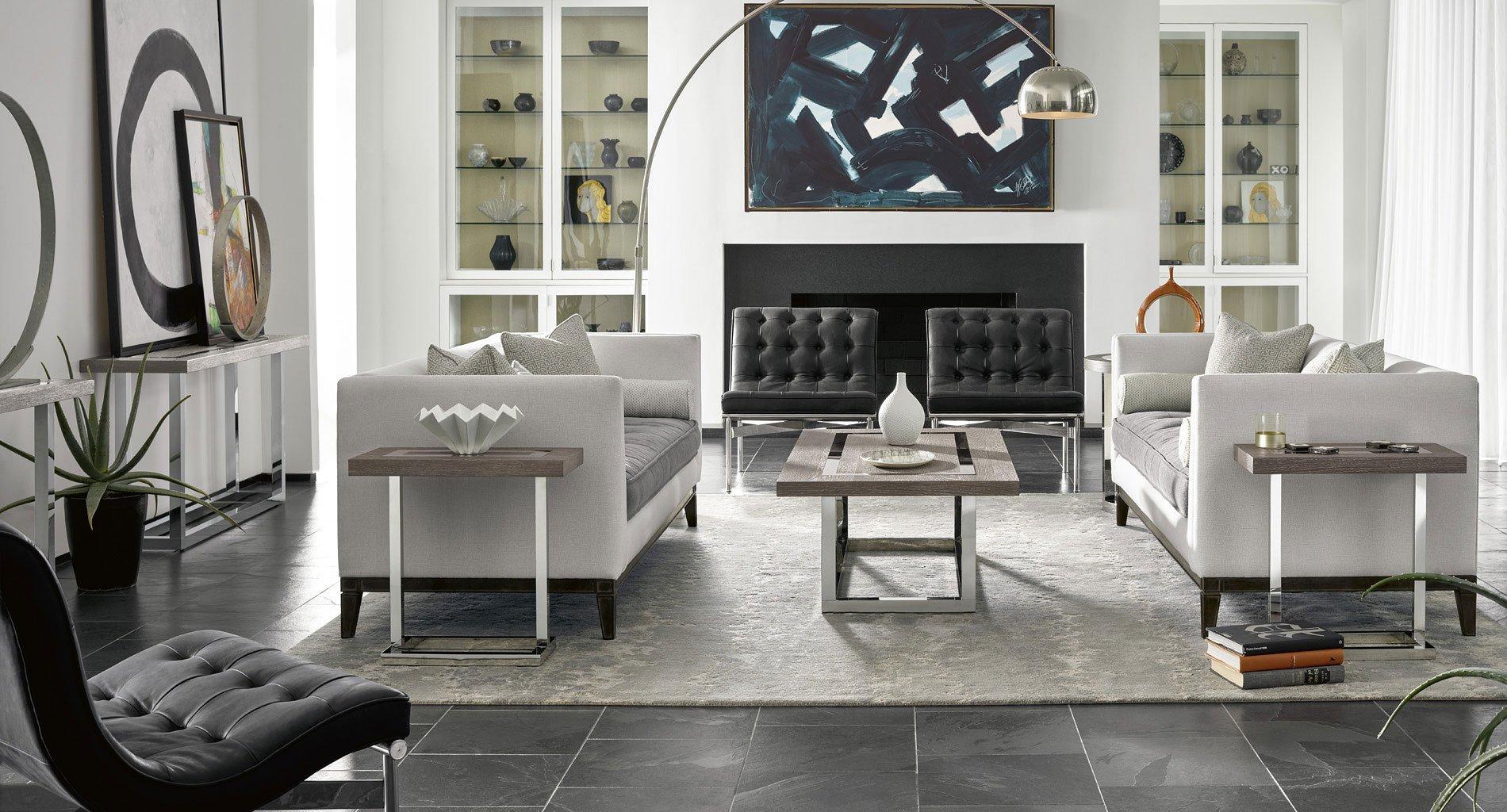 Flint Office Furniture: Modern Wyatt Occasional Table Set (Flint) Universal