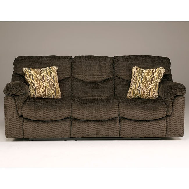 Dreamweaver - Chocolate Reclining Sofa
