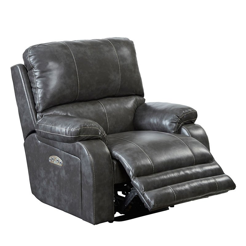 Thornton Power Lay Flat Recliner W Power Headrest Steel