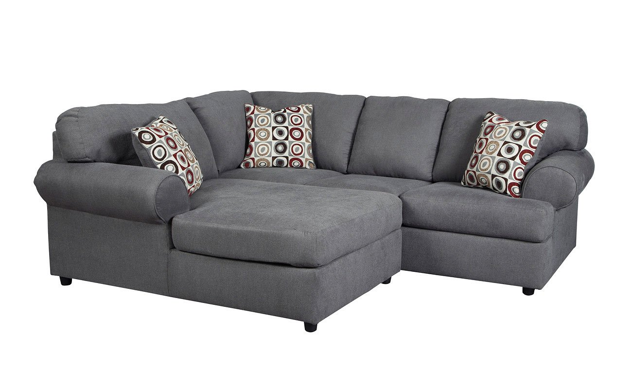 Jayceon Steel Small Left Chaise Sectional Signature Design ...