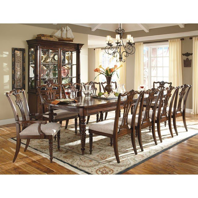 Moonlight Bay Victoria Dining Room Set W Regency Chairs