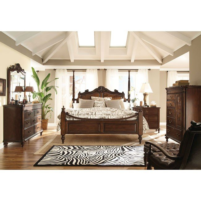 Moonlight Bay Plantation Poster Bedroom Set Kincaid
