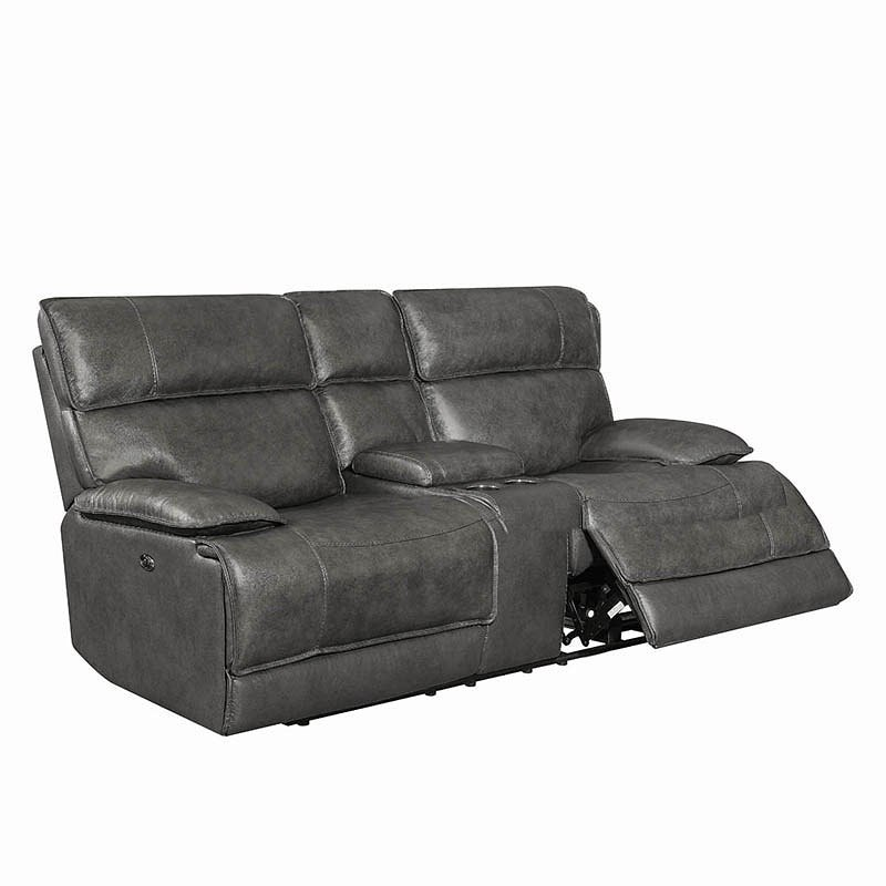 Incredible Stanford Power Reclining Loveseat W Power Headrests Gmtry Best Dining Table And Chair Ideas Images Gmtryco