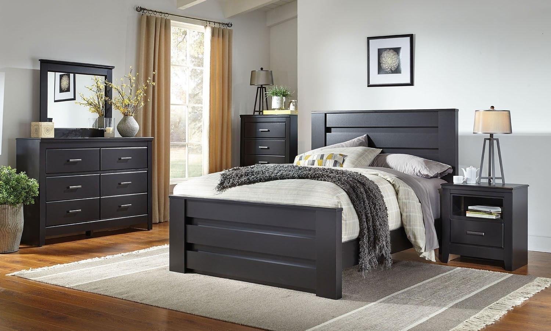 modesto panel bedroom set standard furniture furniture cart. Black Bedroom Furniture Sets. Home Design Ideas
