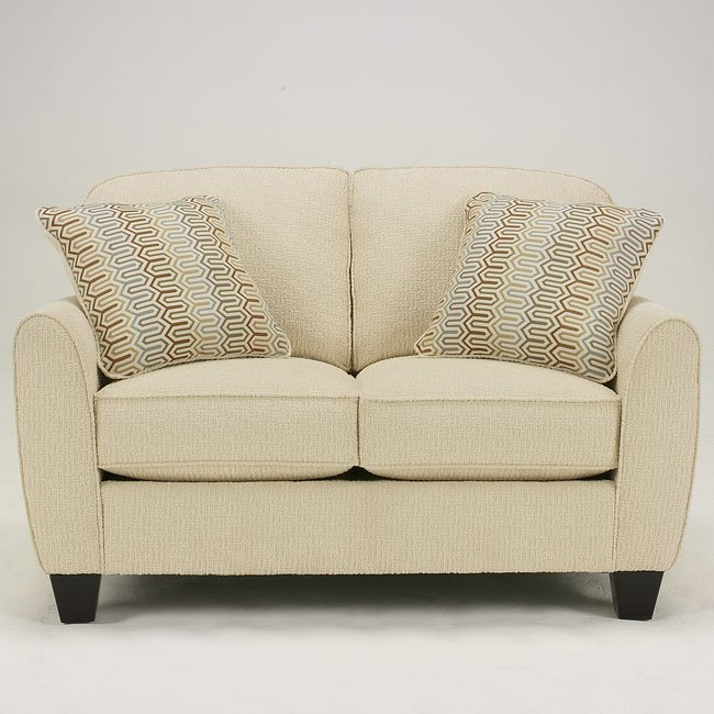 Weston - Sahara Loveseat
