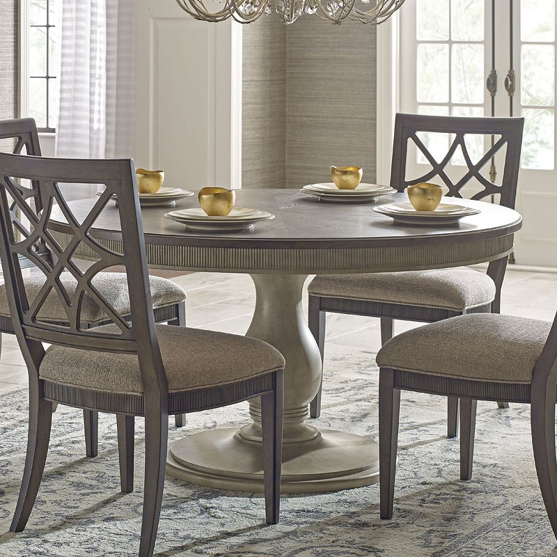Savona Brown Mocha Octavia Dining Table Complete By American Drew