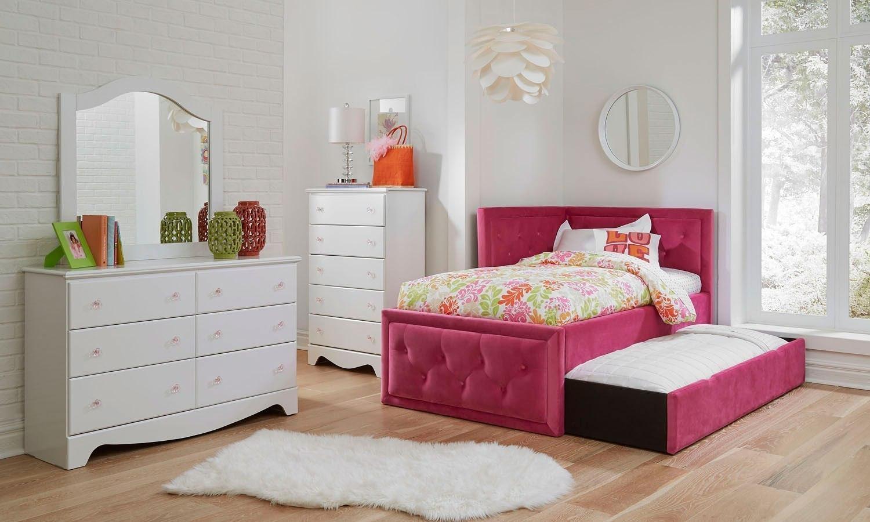 Gabby Bedroom Set W Avery Corner Bed Standard Furniture Furniture Cart