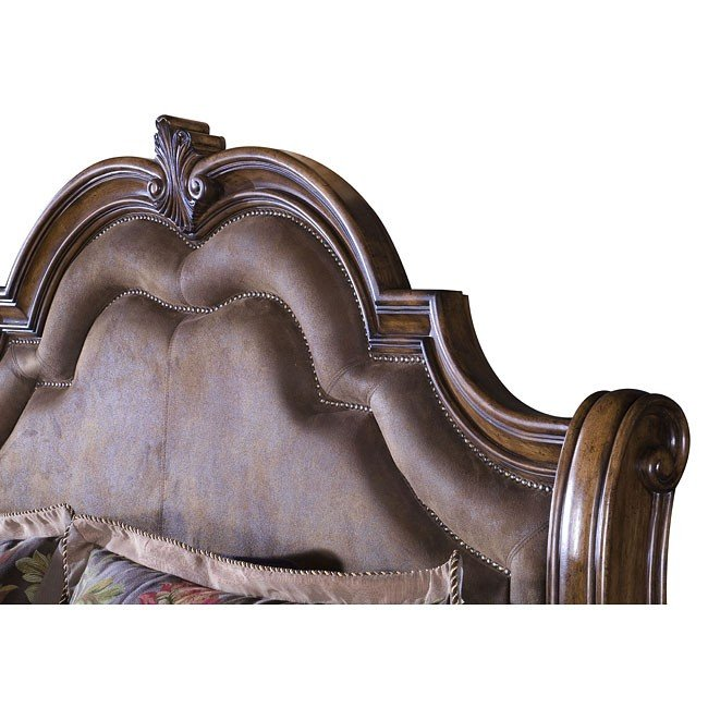 San Mateo Sleigh Bedroom Set From Pulaski 662170 662171: San Mateo Sleigh Bed Pulaski Furniture